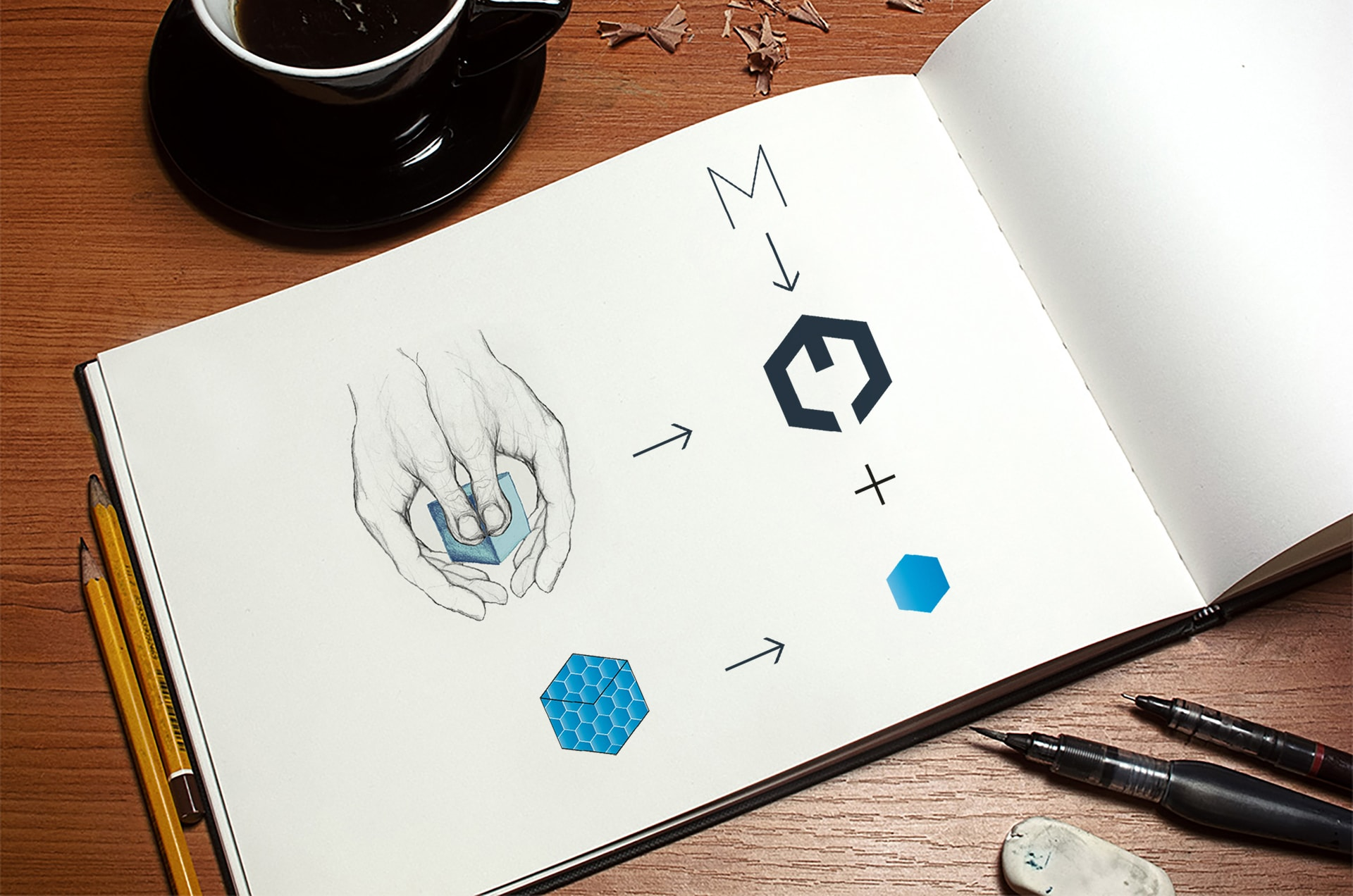 Identité visuelle du Groupe Meda Holding